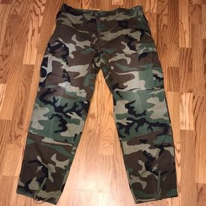 Woodland Camouflage Men's Hunting Pants